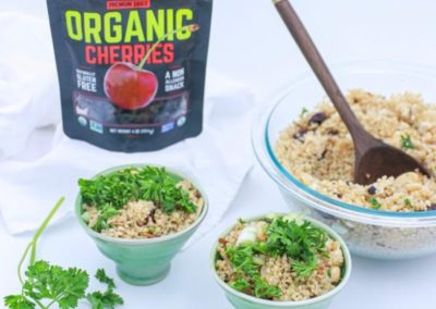 ORGANIC DRIED CHERRY ALMOND QUINOA